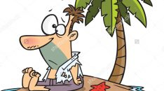 stock-vector-cartoon-man-stranded-on-a-deserted-island-with-a-palm-tree-120823873