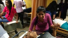 91 University Students Medical students injured Sri Lanka after Police attack